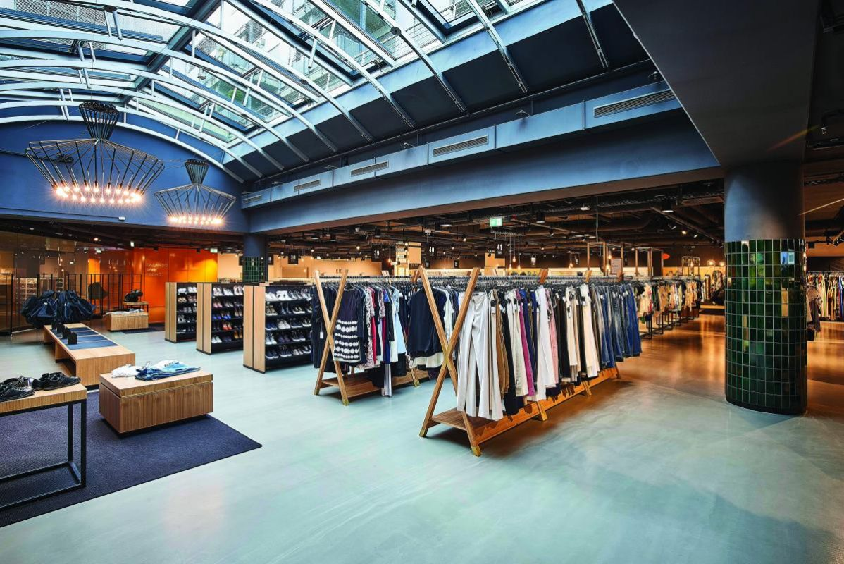 Der Zalando Outlet Store in Köln gewann den German Design Award 2018 im Bereich Retail Architecture.