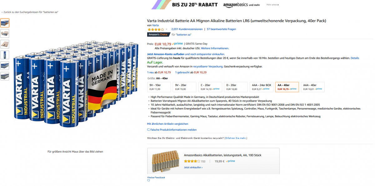 Marketing: Amazon verkommt zum Handzettel