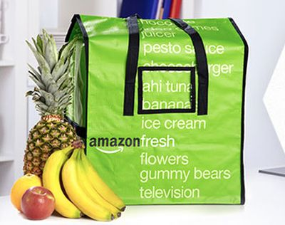 Amazon Fresh Tasche Foto: Amazon