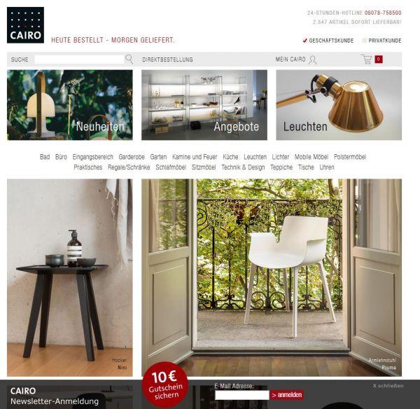 Player: Wie der Möbelhändler Cairo Klassik und digitale Zukunft versöhnt
