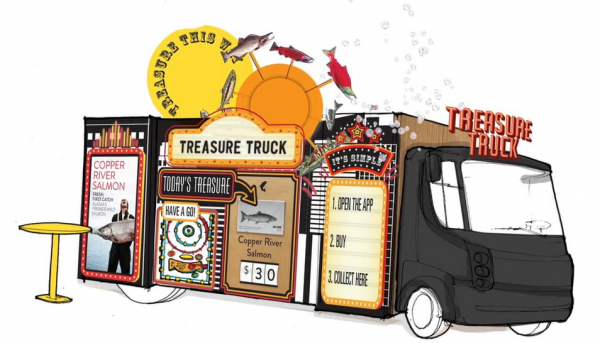 """Treasure Truck"" von Amazon"