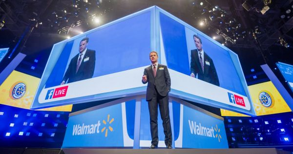 Walmart Boss Doug McMillon verspricht gewaltige Investitionen in den digitalen Wandel