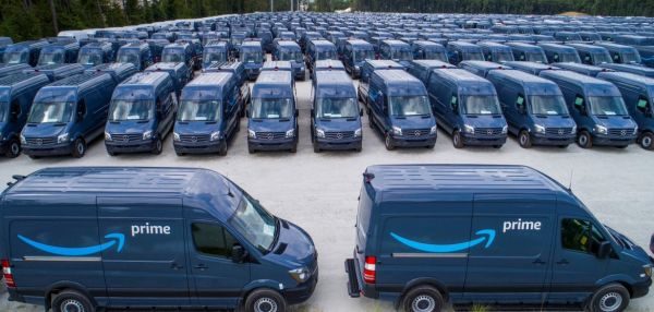 20.000 Mercedes-Transporter ordert Amazon