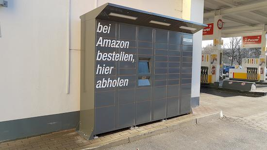 Amazon Locker bei Shell