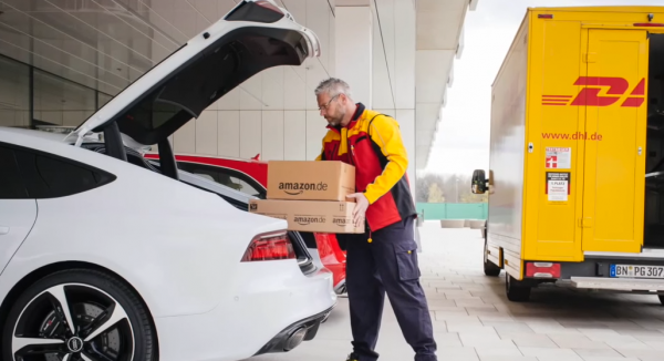Testpartner: Audi, DHL und Amazon