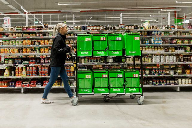 Amazon Fresh-Depot in Daglfing