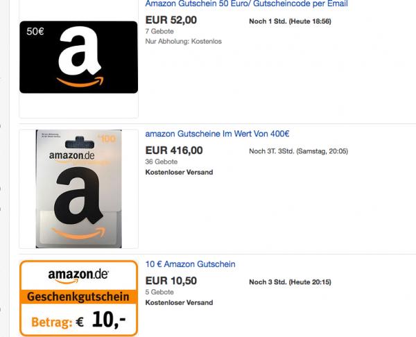 Amazon Gutschein Karte.Tricks Ebay Paypal Und Die Amazon Gutscheine Die