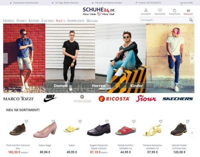Schuhe24 veröffentlicht Lieferanten Ranking | schuhkurier