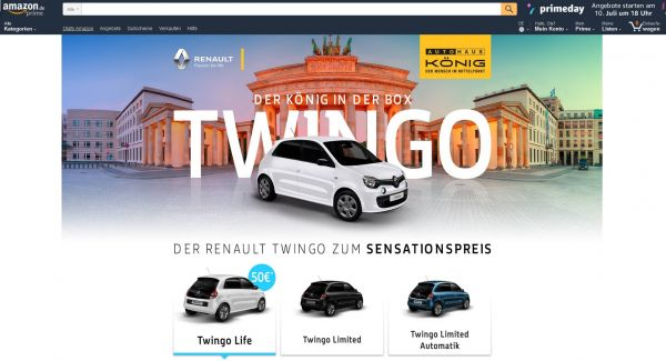 Twingo bei Amazon
