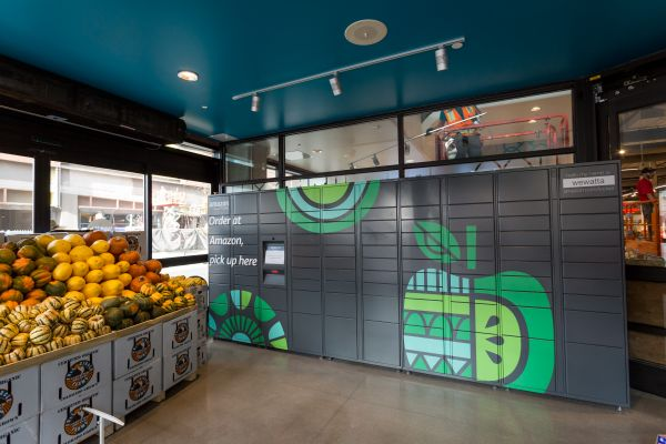 Amazon Locker bei Whole Foods