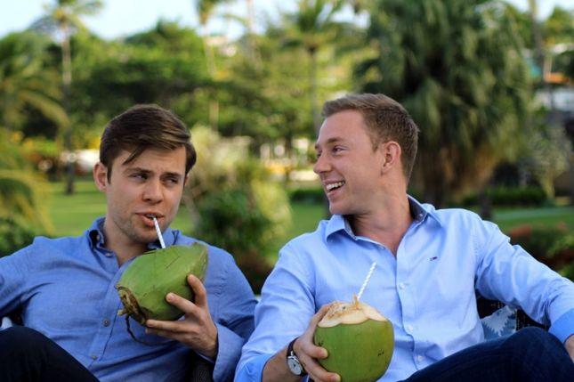 Zwei Brüder für den guten Geschmack: Harry und Charly Thuillier.