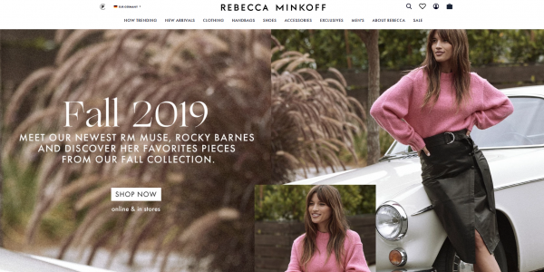 Chic mit Shopify: Das globale Fashion-Label Rebecca Minkoff